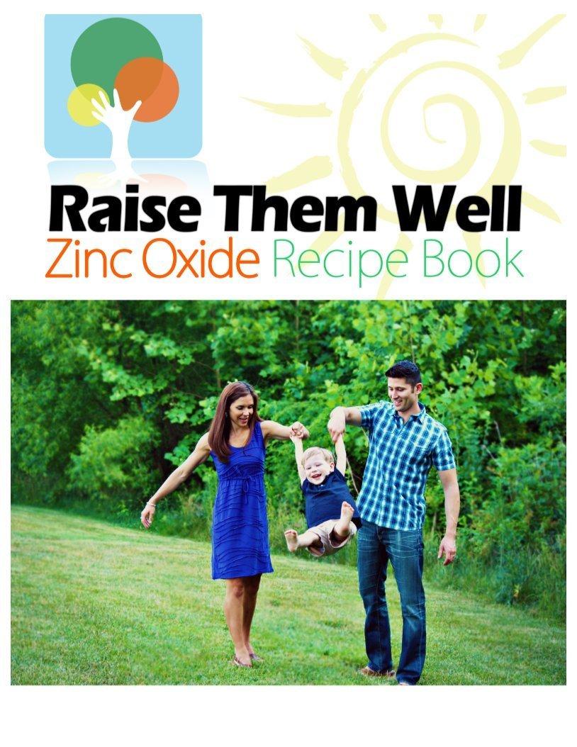 RTW zinc oxide recipe book